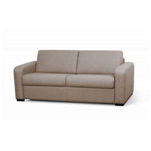 Canapé convertible système couchage express 3 places en tissu