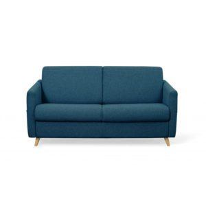 Canapé couchage rapide en tissu 3 places