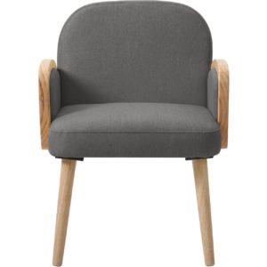 Fauteuil gris confort style contemporain et côtier