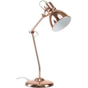 Lampe de bureau en cuivre