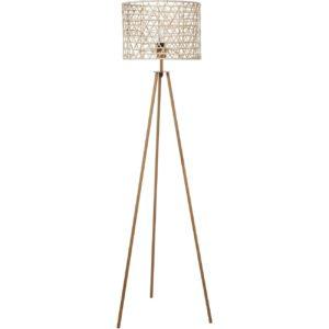 Lampadaire Beige en bambou