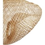 Suspension bohème en bambou