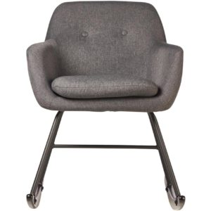 Rocking chair grise