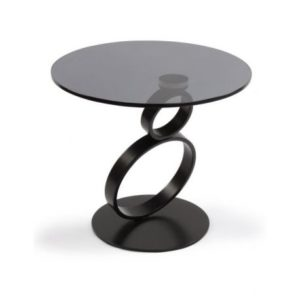 Table basse d'appoint spirale